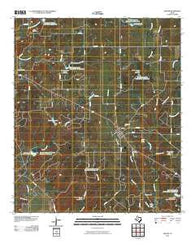 Zephyr Texas Historical topographic map, 1:24000 scale, 7.5 X 7.5 Minute, Year 2010