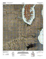 Zuberbueler Bend Texas Historical topographic map, 1:24000 scale, 7.5 X 7.5 Minute, Year 2010
