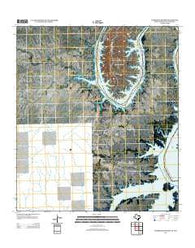 Zuberbueler Bend Texas Historical topographic map, 1:24000 scale, 7.5 X 7.5 Minute, Year 2013