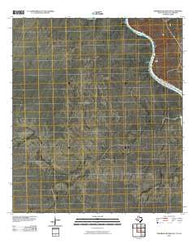 Zuberbueler Bend NW Texas Historical topographic map, 1:24000 scale, 7.5 X 7.5 Minute, Year 2010