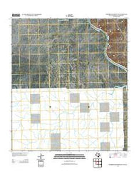 Zuberbueler Bend NW Texas Historical topographic map, 1:24000 scale, 7.5 X 7.5 Minute, Year 2013