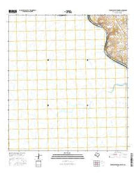 Zuberbueler Bend NW Texas Current topographic map, 1:24000 scale, 7.5 X 7.5 Minute, Year 2016