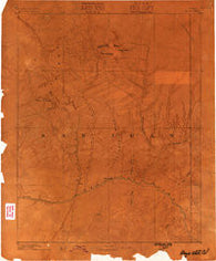 Abajo Colorado Historical topographic map, 1:250000 scale, 1 X 1 Degree, Year 1886