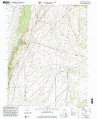 Abes Knoll Utah Historical topographic map, 1:24000 scale, 7.5 X 7.5 Minute, Year 2001
