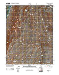 Abes Knoll Utah Historical topographic map, 1:24000 scale, 7.5 X 7.5 Minute, Year 2011
