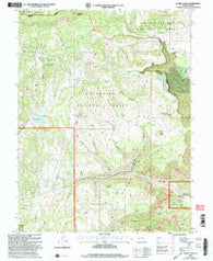 Acord Lakes Utah Historical topographic map, 1:24000 scale, 7.5 X 7.5 Minute, Year 2001