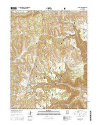 Acord Lakes Utah Current topographic map, 1:24000 scale, 7.5 X 7.5 Minute, Year 2014