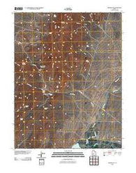 Adamsville Utah Historical topographic map, 1:24000 scale, 7.5 X 7.5 Minute, Year 2010