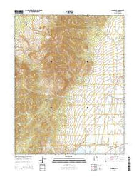 Adamsville Utah Current topographic map, 1:24000 scale, 7.5 X 7.5 Minute, Year 2014