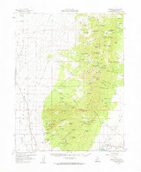 Adamsville Utah Historical topographic map, 1:62500 scale, 15 X 15 Minute, Year 1958