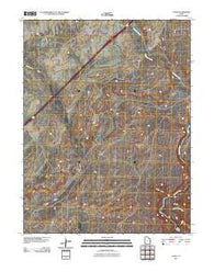 Agate Utah Historical topographic map, 1:24000 scale, 7.5 X 7.5 Minute, Year 2011