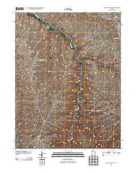 Agency Draw NE Utah Historical topographic map, 1:24000 scale, 7.5 X 7.5 Minute, Year 2011