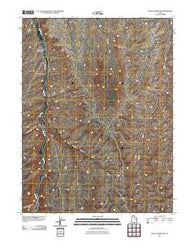 Agency Draw NW Utah Historical topographic map, 1:24000 scale, 7.5 X 7.5 Minute, Year 2011