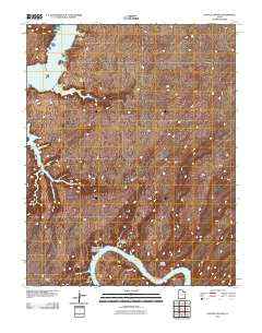 Alcove Canyon Utah Historical topographic map, 1:24000 scale, 7.5 X 7.5 Minute, Year 2011