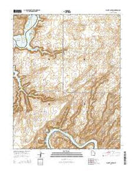 Alcove Canyon Utah Current topographic map, 1:24000 scale, 7.5 X 7.5 Minute, Year 2014