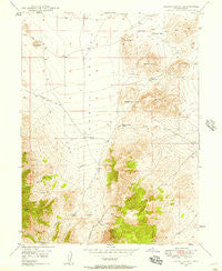 Allens Ranch Utah Historical topographic map, 1:24000 scale, 7.5 X 7.5 Minute, Year 1947