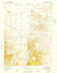 Allens Ranch Utah Historical topographic map, 1:24000 scale, 7.5 X 7.5 Minute, Year 1949