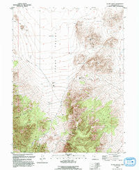 Allens Ranch Utah Historical topographic map, 1:24000 scale, 7.5 X 7.5 Minute, Year 1993