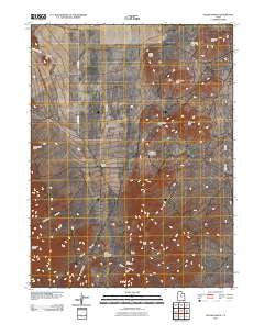 Allens Ranch Utah Historical topographic map, 1:24000 scale, 7.5 X 7.5 Minute, Year 2011