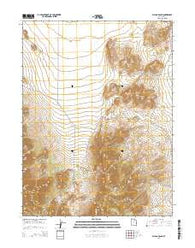 Allens Ranch Utah Current topographic map, 1:24000 scale, 7.5 X 7.5 Minute, Year 2014
