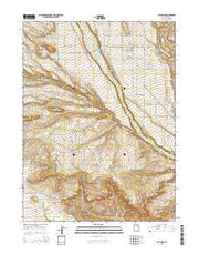 Altamont Utah Current topographic map, 1:24000 scale, 7.5 X 7.5 Minute, Year 2014 from Utah Maps Store