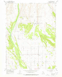 Altonah Utah Historical topographic map, 1:24000 scale, 7.5 X 7.5 Minute, Year 1965