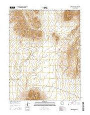 Antelope Spring Utah Current topographic map, 1:24000 scale, 7.5 X 7.5 Minute, Year 2014 from Utah Maps Store