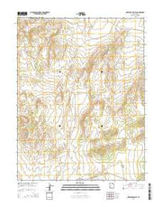 Antelope Valley Utah Current topographic map, 1:24000 scale, 7.5 X 7.5 Minute, Year 2014 from Utah Maps Store
