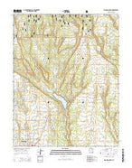 Blanding North Utah Current topographic map, 1:24000 scale, 7.5 X 7.5 Minute, Year 2014 from Utah Map Store