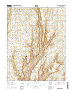 Blanding South Utah Current topographic map, 1:24000 scale, 7.5 X 7.5 Minute, Year 2014 from Utah Map Store