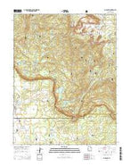 Blind Lake Utah Current topographic map, 1:24000 scale, 7.5 X 7.5 Minute, Year 2014 from Utah Map Store