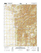 Blind Spring Mountain Utah Current topographic map, 1:24000 scale, 7.5 X 7.5 Minute, Year 2014 from Utah Map Store