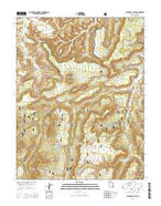 Cathedral Butte Utah Current topographic map, 1:24000 scale, 7.5 X 7.5 Minute, Year 2014 from Utah Map Store