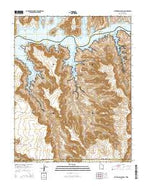 Cathedral Canyon Utah Current topographic map, 1:24000 scale, 7.5 X 7.5 Minute, Year 2014 from Utah Map Store
