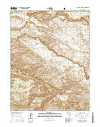 Cathedral Mountain Utah Current topographic map, 1:24000 scale, 7.5 X 7.5 Minute, Year 2014 from Utah Map Store