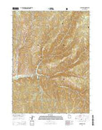 Causey Dam Utah Current topographic map, 1:24000 scale, 7.5 X 7.5 Minute, Year 2014 from Utah Map Store