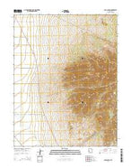 Cave Canyon Utah Current topographic map, 1:24000 scale, 7.5 X 7.5 Minute, Year 2014 from Utah Map Store