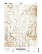 Cedar Utah Current topographic map, 1:24000 scale, 7.5 X 7.5 Minute, Year 2014 from Utah Map Store