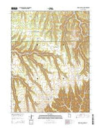 Cedar Camp Canyon Utah Current topographic map, 1:24000 scale, 7.5 X 7.5 Minute, Year 2014 from Utah Map Store