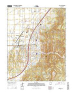Cedar City Utah Current topographic map, 1:24000 scale, 7.5 X 7.5 Minute, Year 2014 from Utah Map Store