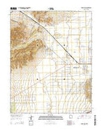 Cedar City NW Utah Current topographic map, 1:24000 scale, 7.5 X 7.5 Minute, Year 2014 from Utah Map Store