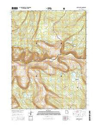 Chepeta Lake Utah Current topographic map, 1:24000 scale, 7.5 X 7.5 Minute, Year 2014