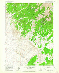 Cherry Creek Utah Historical topographic map, 1:24000 scale, 7.5 X 7.5 Minute, Year 1963