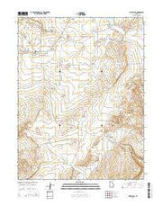Cleveland Utah Current topographic map, 1:24000 scale, 7.5 X 7.5 Minute, Year 2014 from Utah Maps Store
