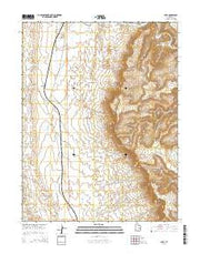 Cliff Utah Current topographic map, 1:24000 scale, 7.5 X 7.5 Minute, Year 2014 from Utah Maps Store