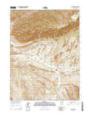 Cliff Ridge Utah Current topographic map, 1:24000 scale, 7.5 X 7.5 Minute, Year 2014 from Utah Maps Store