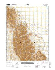 Craner Peak Utah Current topographic map, 1:24000 scale, 7.5 X 7.5 Minute, Year 2014 from Utah Maps Store