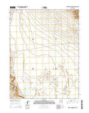 Crater Bench Reservoir Utah Current topographic map, 1:24000 scale, 7.5 X 7.5 Minute, Year 2014 from Utah Maps Store