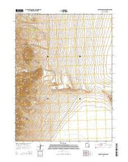 Crater Island NW Utah Current topographic map, 1:24000 scale, 7.5 X 7.5 Minute, Year 2014 from Utah Maps Store