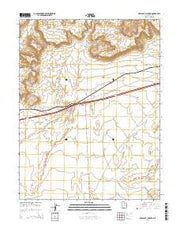 Crescent Junction Utah Current topographic map, 1:24000 scale, 7.5 X 7.5 Minute, Year 2014 from Utah Maps Store
